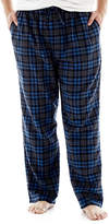 JCPenney THE FOUNDRY SUPPLY CO. The Foundry Big & Tall Supply Co. Plaid Flannel Lounge Pants-Big & Tall