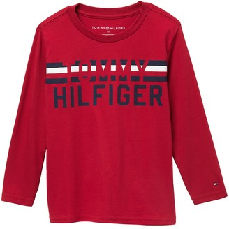 Tommy Hilfiger Long Sleeve T-Shirt (Little Boys)