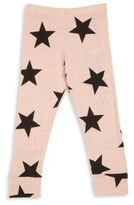 Nununu Toddler's, Little Girl's & Girl's Star Print Leggings