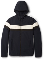 Prada Striped Padded Shell Jacket