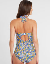 Figleaves Midnight Grace by figleaves.com Posy Underwired Halter Swimsuit