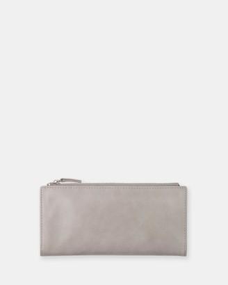Status Anxiety Dakota - Light Grey Wallet