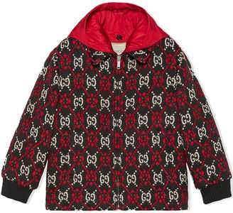 Gucci Kids children's GG diamond bomber jacket
