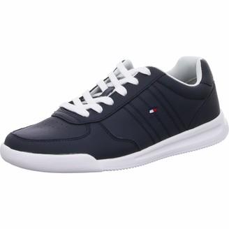 Tommy Hilfiger Men's Lightweight Leather Sneaker Low-Top