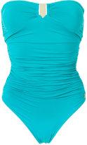 BRIGITTE draped swimsuit - women - Polyamide/Spandex/Elastane - PP