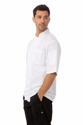 Chef Works Men's Montreal Cool Vent Chef Coat (JLCV) White