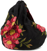 Simone Rocha peony jacquard tote bag - women - Cotton/Polyamide - One Size