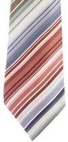 Hermes Silk Striped Tie