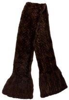 Pologeorgis Knitted Mink Stole