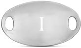 Nambe Monogram Pebble Handled Tray