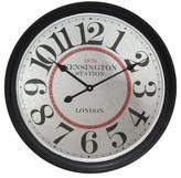 Infinity Instruments Kensington Station Clock - Black