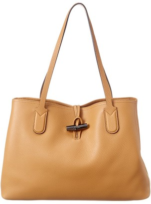 Longchamp Roseau Essential Medium Leather Tote