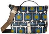 Orla Kiely Love Birds Print Satchel Satchel Handbags