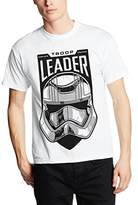 Star Wars Men's the Force Awakens Adult Male Troop Leader Stormtrooper T-Shirt