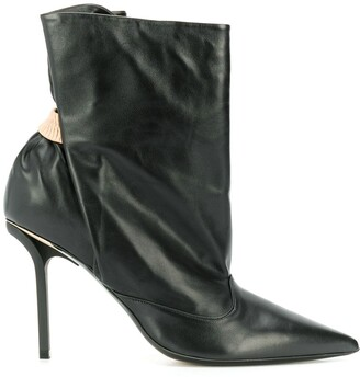 No.21 Ruched Ankle Boots