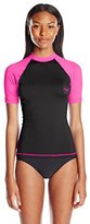 Roxy Juniors Sea Bound Short Sleeve Rash Guard