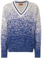 Missoni ombré V-neck jumper