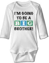 Reade Baby Boy/Girls Im Going To Be A Big Brother Baby Onesies Long Sleeve
