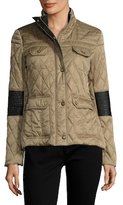 Vince Camuto Quilted Four Pocket Jacket