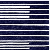 Williams-Sonoma Williams Sonoma Perennials® Piano Stripe Indoor/Outdoor Rug, Navy