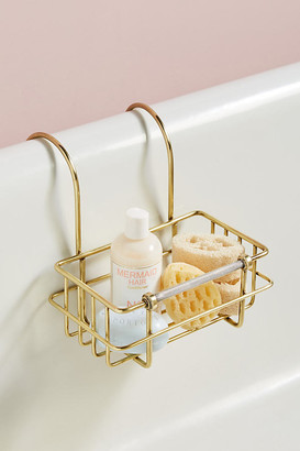 Anthropologie Sylvie Bath Caddy By in Brown