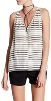 BB Dakota Mirren Striped V-Neck Tank