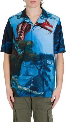 Valentino Dragon Garden Shirt
