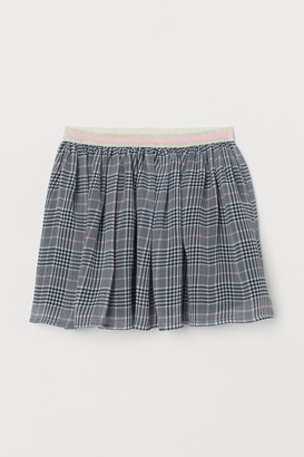 H&M Patterned Skirt - White