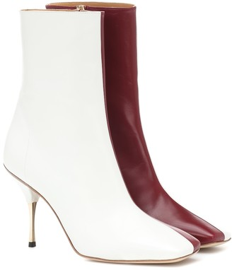 Petar Petrov Exclusive to Mytheresa a Svea leather ankle boots