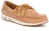 Columbia Men's Super Bonehead Vent Leather TechLite Lace Up Boat Shoe