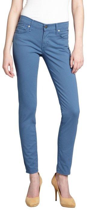 James Jeans windsor blue stretch denim 'Twiggy' legging skinny jeans
