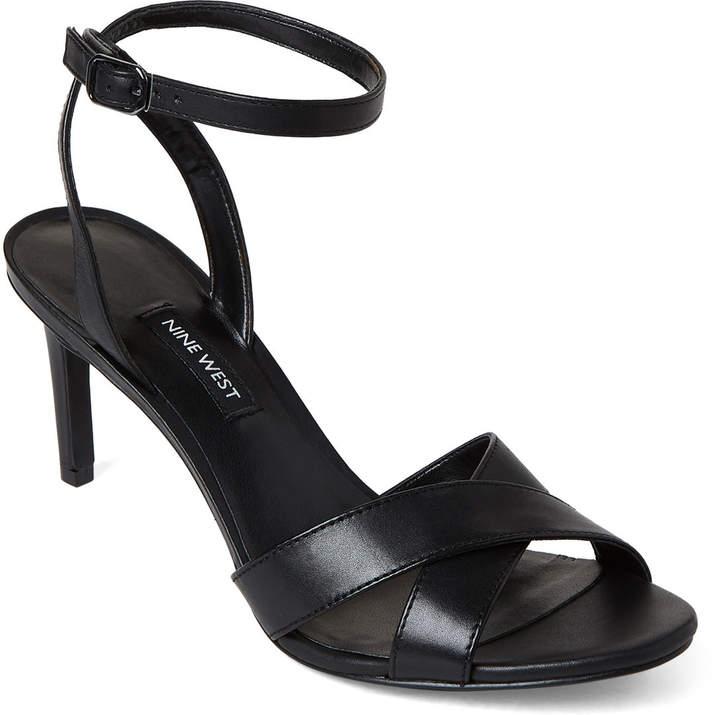 Strap Sandals Ankle Leather Black Apryle OiuPTZkX