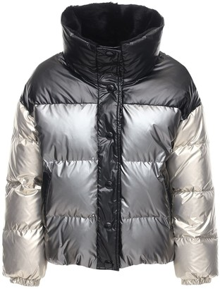 Yves Salomon Reversible Fur Down Jacket