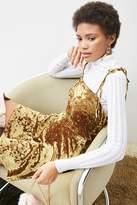 LOVE21 LOVE 21 Velvet Cami Dress