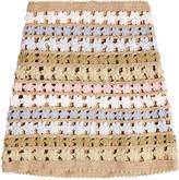 She Made Me Maala Crochet Knit Skirt