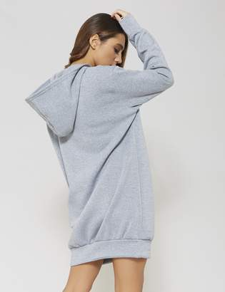 Public Desire Ultimate Hooded Sweater Dress