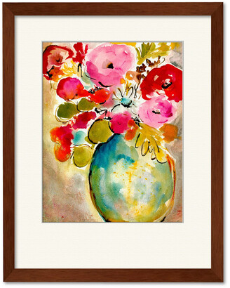 Courtside Market Wall Decor Pastel Vase Ii Gallery Collection Framed Art