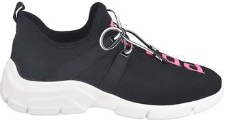 Prada Lace-up Logo Sock Sneakers