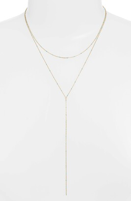 Argentovivo Enamel Bead Layer Y-Necklace