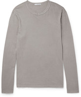James Perse - Washed Cotton-jersey T-shirt