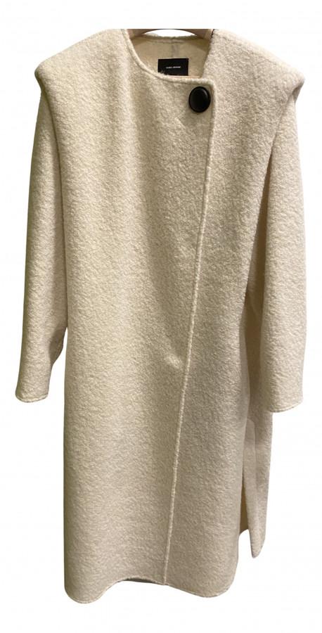 Isabel Marant Ecru Wool Coats