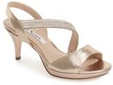 Nina Women's 'Novelle' Crystal Embellished Evening Sandal