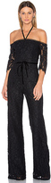 Alexis Joaquin Jumpsuit in Black. - size XS (also in )