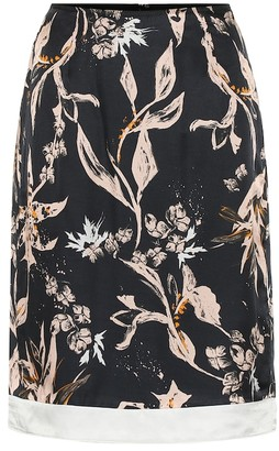 Dorothee Schumacher Tamed Florals silk-blend skirt