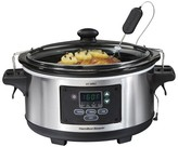 Hamilton Beach Set 'N Forget 6 Qt. Programmable Slow Cooker- 33969
