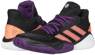 adidas Harden Stepback (Core Black/Glory Purple/Signal Coral) Basketball Shoes