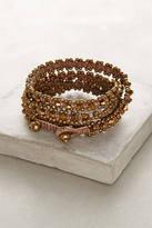 Anthropologie Bronzed Wrap Bracelet