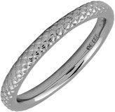 Simply Stacks Sterling Black Rhodium-Plated 2.25mm Ring