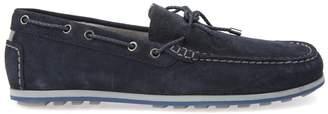 Geox U Mirvin B Suede Boat Shoes