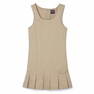 French Toast Little Girls' Pleated Hem Jumper